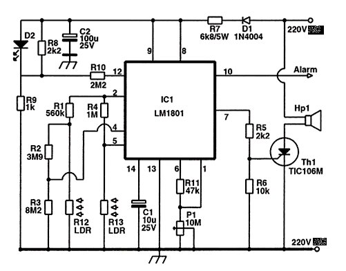 > circuits > lm723 variable power supply circuit l25316