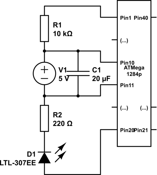 avr Programming an ATmega1284p with Arduino IDE and