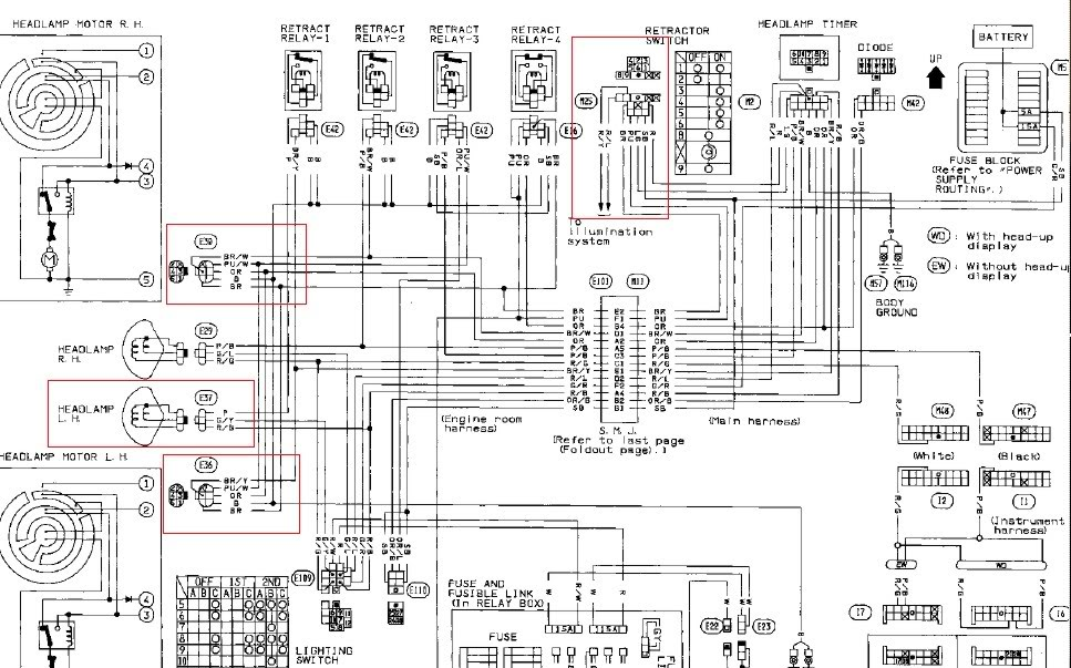 WIRING DIAGRAM FOR 2000 NISSAN XTERRA