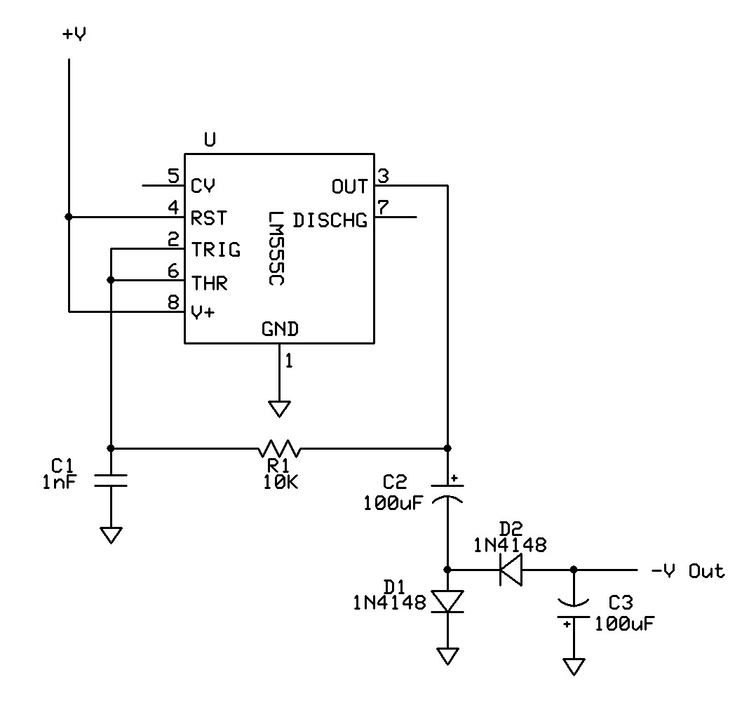555 Circuit Can Supply Enough Neg Voltage Under Repository