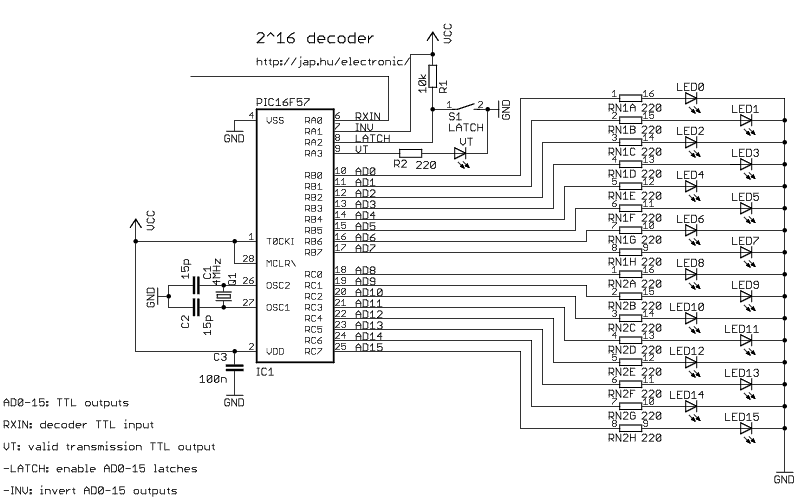 > microcontrollers > pic > Digital Encoder with PIC16F57