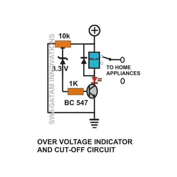 over voltage and low voltage protection circuits easy home