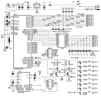 avr microcontroller circuit Page 6 : Microcontroller