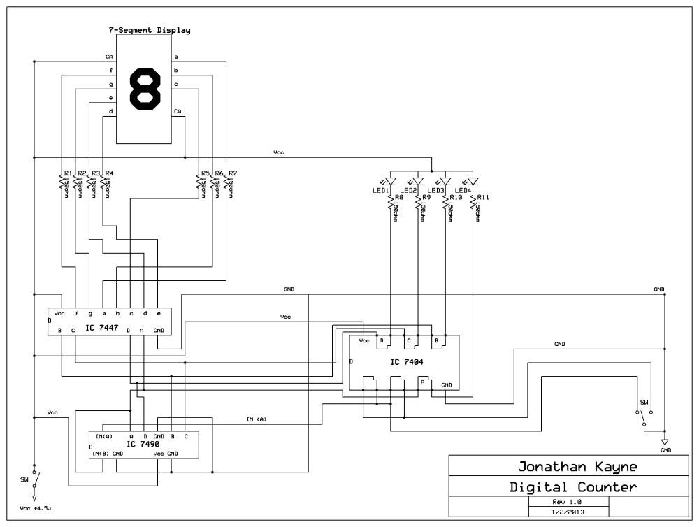 medium resolution of digital counter circuit