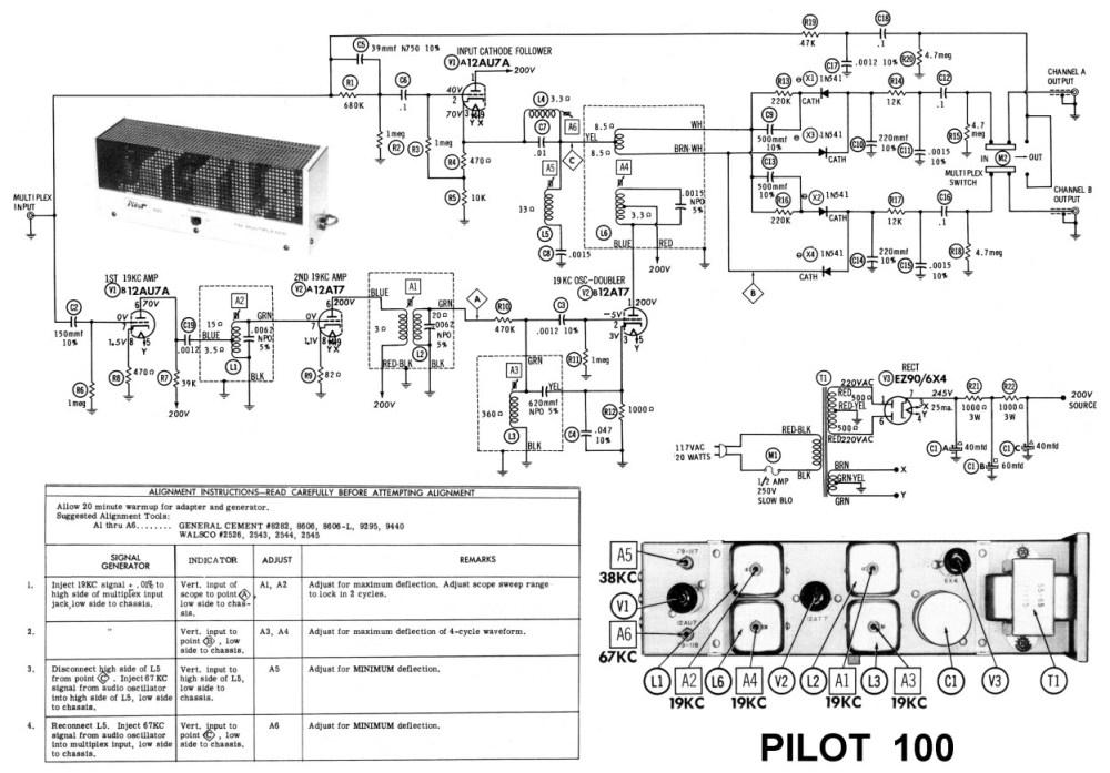 medium resolution of am fm radio pilot 100 stereo demodulator