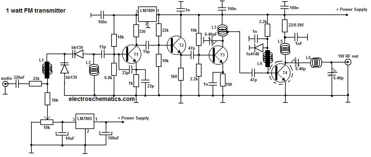 fm transmitter circuit Page 2 : RF Circuits :: Next.gr