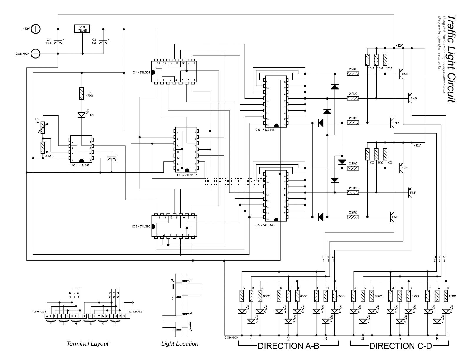 Gt Circuits Gt To The Circuit Schematic L