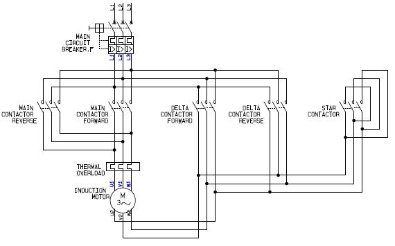 Wiring Diagram For Motor Starter 3 Phase Electric Motor Starter