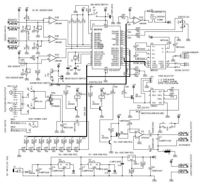 alarm circuit Page 17 : Security Circuits :: Next.gr