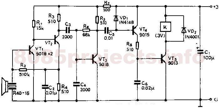 40khz ultrasonic transmitter circuit 3