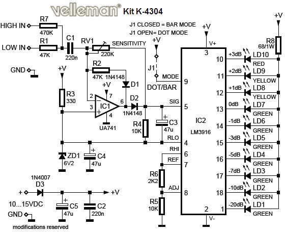 VU LED Indicator Schematic under Repository-circuits