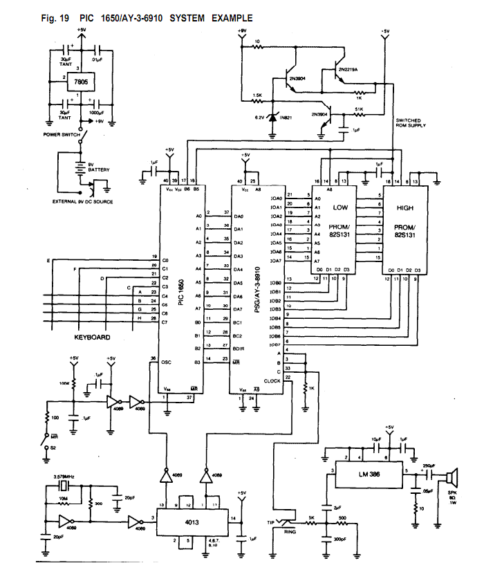 > audio > musical circuits > Programmable Sound Generator