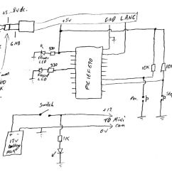 How To Make A Schematic Diagram Kenwood Kdc Mp342u Wiring Gt Circuits Pic Controlled Helmet Camera Using Pic16f690