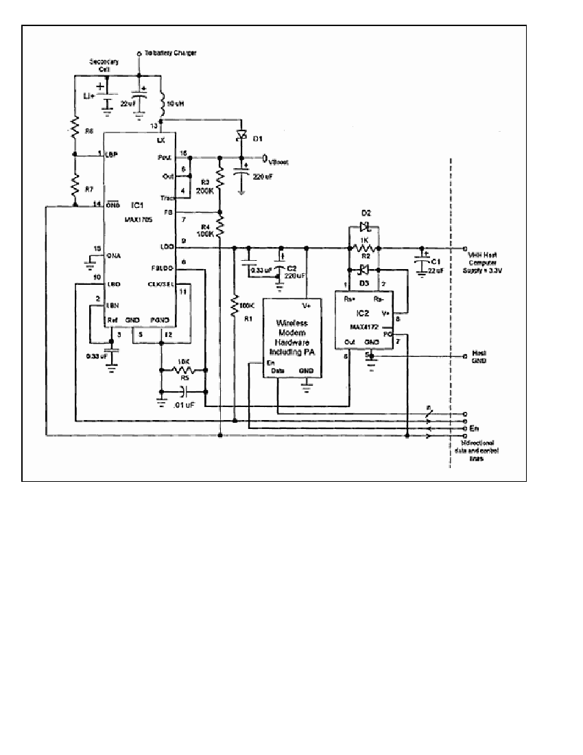 Modem circuit : Computer Circuits :: Next.gr
