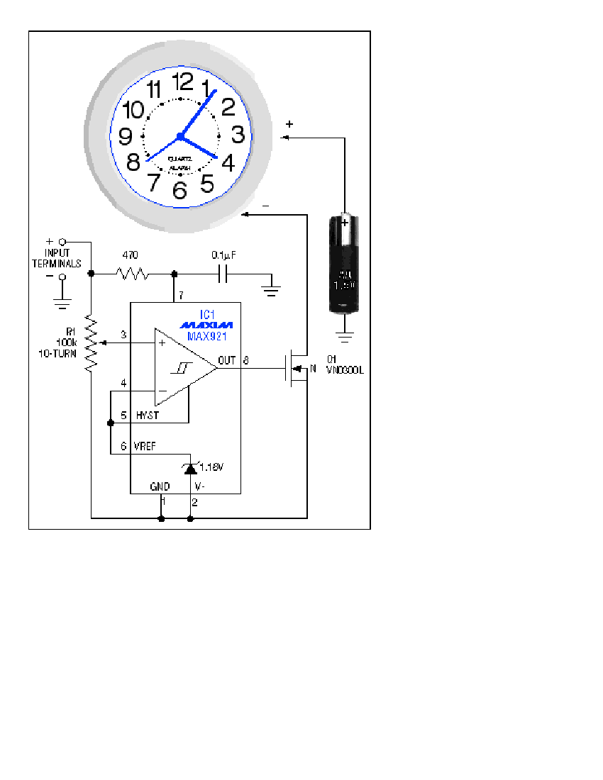 stereo led power vu meter circuit project