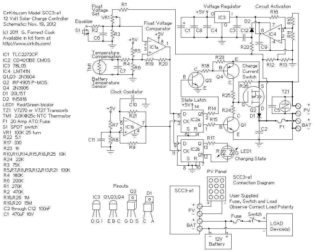 Solar Cell Circuit Page 9 Power Supply Circuits Next