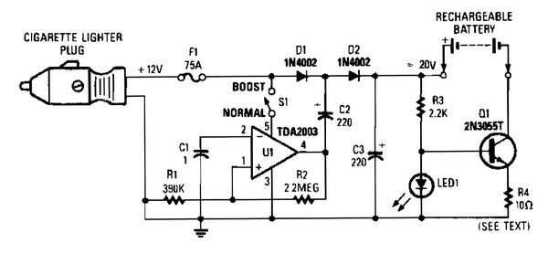battery charger circuit Page 6 : Power Supply Circuits