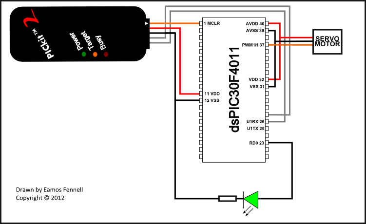 servo motor circuit : Automation Circuits :: Next.gr