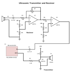 Ultrasonic Motion Detector Circuit Diagram Photosynthesis Step By Transducer Electronic Circuits Page 292 Nextgr