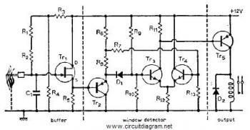 gas sensor circuit Page 2 : Sensors Detectors Circuits