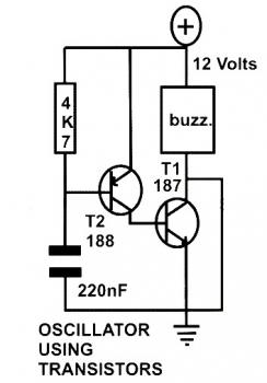 basic oscillator circuit using two under Repository