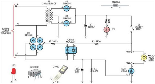 remote alarm for smoke detector 1366381459?resize\=512%2C277 hard wired smoke detectors wiring diagram smoke detector wiring smoke detector wiring diagram installation at gsmx.co