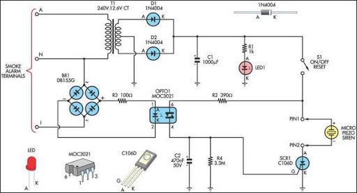 remote alarm for smoke detector 1366381459?resize\=512%2C277 hard wired smoke detectors wiring diagram smoke detector wiring smoke detector wiring diagram installation at soozxer.org