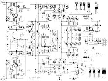 Soft Wiring: 10000 Watts Power Amplifier Schematic Diagram