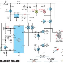 20w Led Driver Circuit Diagram Remote Start Stop Wiring Gt Circuits Ultrasonic Cleaning Transducers Series