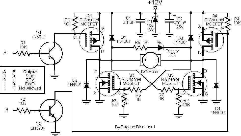 > circuits > planning build mosfet h bridge motor control