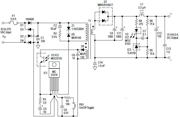 switching power supply Page 6 : Power Supply Circuits