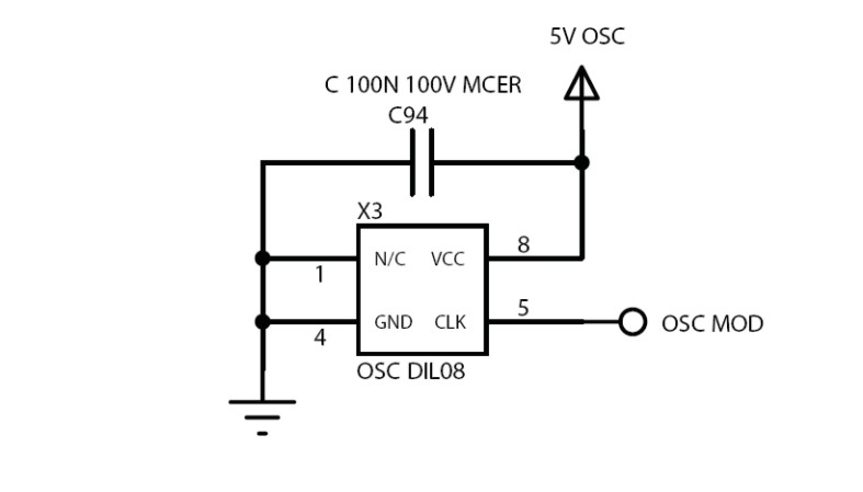 circuit crystal oscillator circuit 4 way traffic light circuit