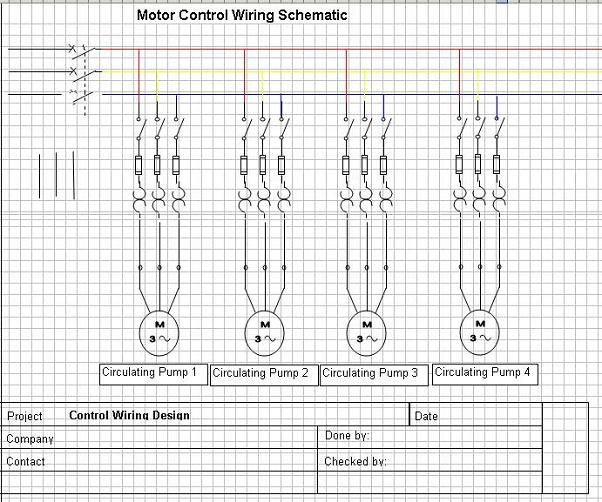 Wiring Diagram Of Motor Control Center On Wiring Download For ...