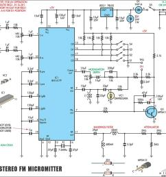 bh1417 stereo fm transmitter [ 1026 x 956 Pixel ]