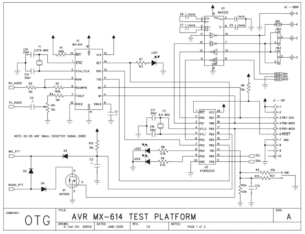 medium resolution of packet radio with avr