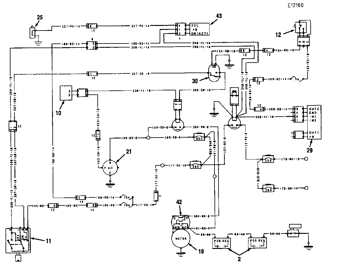 6 2 glow plug controller diagram hornet anatomy > circuits i have a 315bl excavator engine intermittently shut off on l46216 - next.gr