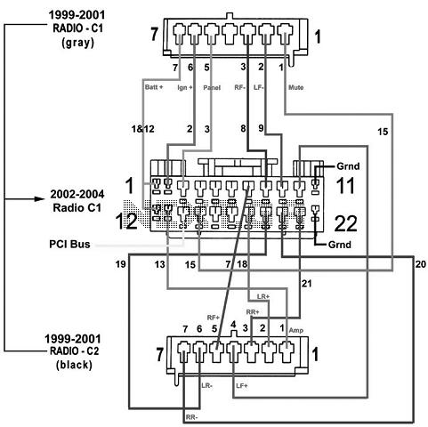 Stereo Wiring Harness 2000 Jeep Grand Cherokee