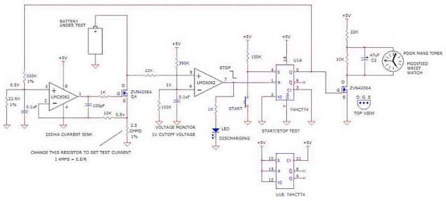 nimh charger circuit diagram using adm66a