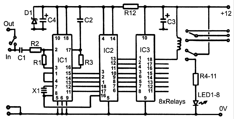 dtmf decoder ic mt8870 pin diagram 2000 nissan frontier alternator wiring circuit telephone circuits next gr