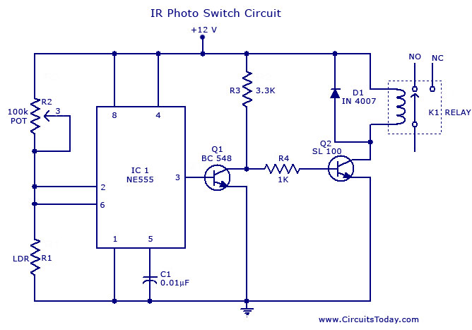 automotive wiring diagram tutorial pioneer radio for sale > circuits photo switch circuit l37197 - next.gr