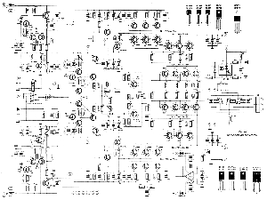 Scematic Diagram Panel: 2000w Amp Circuit