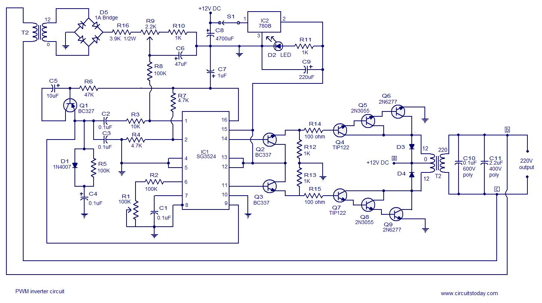 led wiring diagram 120v volvo 850 radio > circuits pwm inverter circuit based on sg3524 12v input 220v output 250w l37208 - next.gr