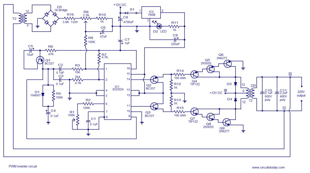 medium resolution of inverter circuit page 8 power supply circuits next gr lighting inverter wiring diagram rv inverter wiring diagram
