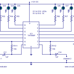 Wiring Diagram Motor Control Of A Computer System Audio Stereo Circuit Page 5 Circuits Next Gr Vu Meter 2 Channel Level
