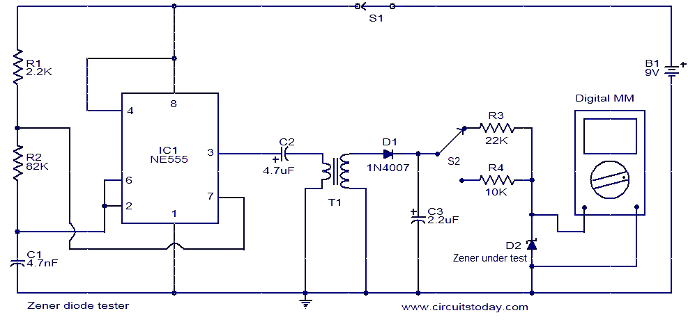Flyback Diode And Zener