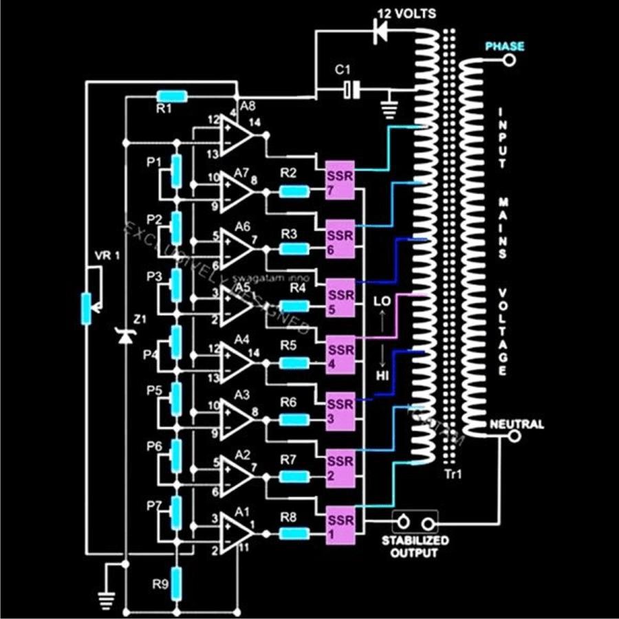 medium resolution of dbw sbw5 automatic voltage stabilizer schematic diagram auto wiring diagram voltage stabilizer circuit diagram electrical wire