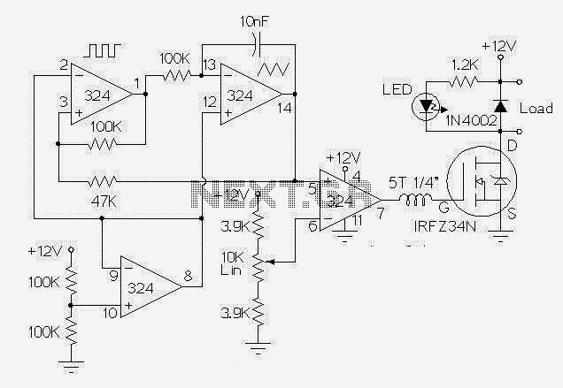 motor control circuits automations schematics