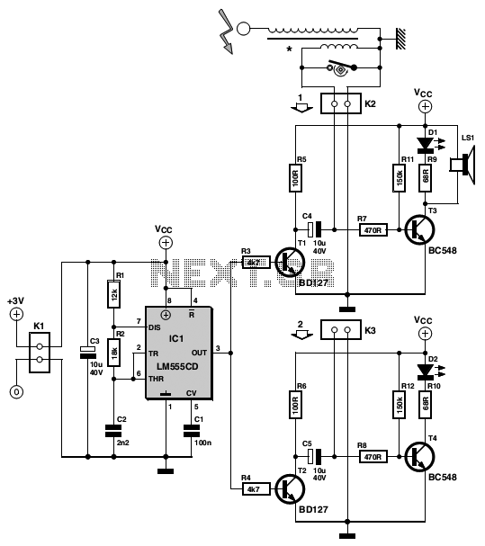 Simple ignition timer schematic under Repository-circuits