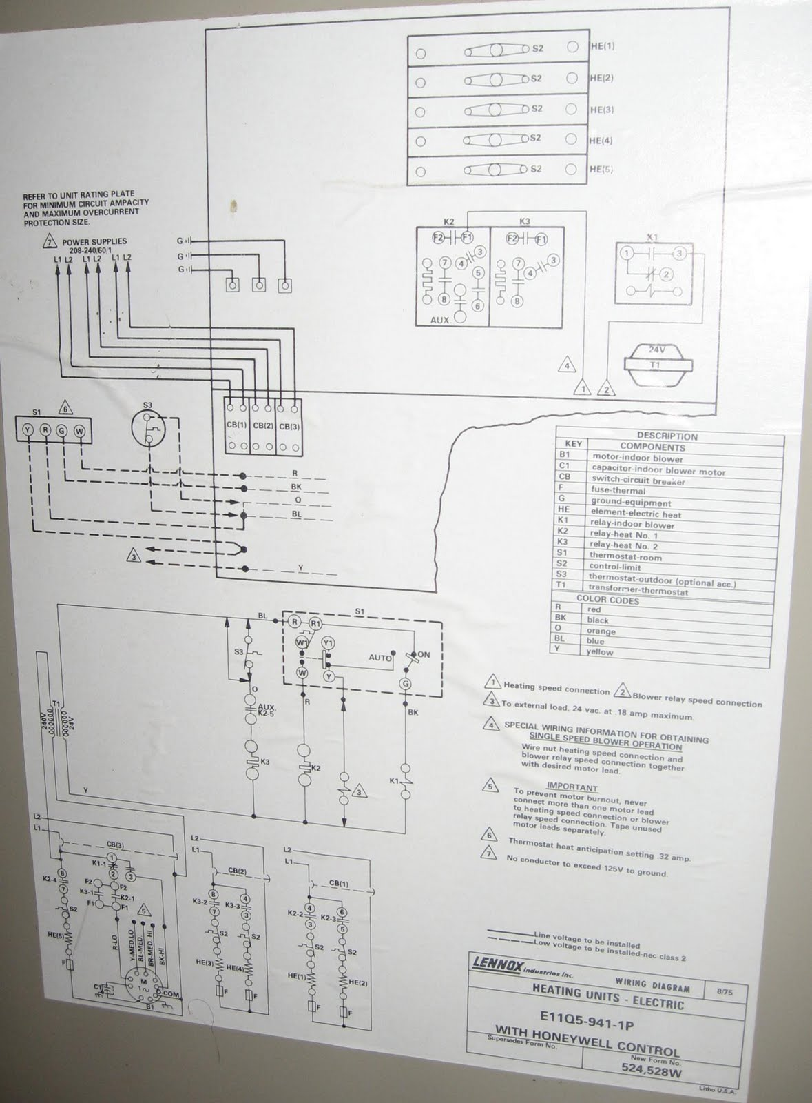Lennox Oil Furnace Schematic Wiring Diagrams forbiddendoctororg – Lennox Fan Limit Switch Wiring Diagram