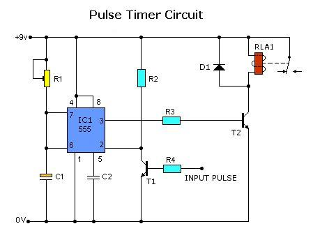 > circuits > pulse timer control relay circuit l32946